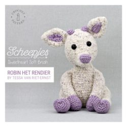 Scheepjes haakpatroon Sweetheart Soft Brush Rendier
