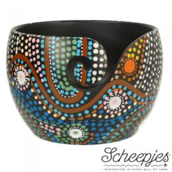Scheepjes Yarn Bowl Mango Hout - Aboriginal