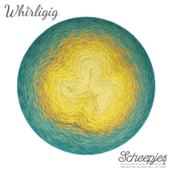 Scheepjes Whirligig - Teal to Yellow 203