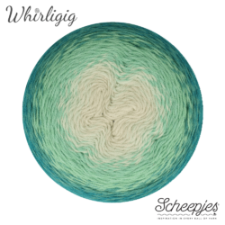 Scheepjes Whirligig - Teal to Ombré 205