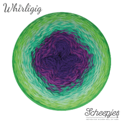 Scheepjes Whirligig - Green to Purple 208