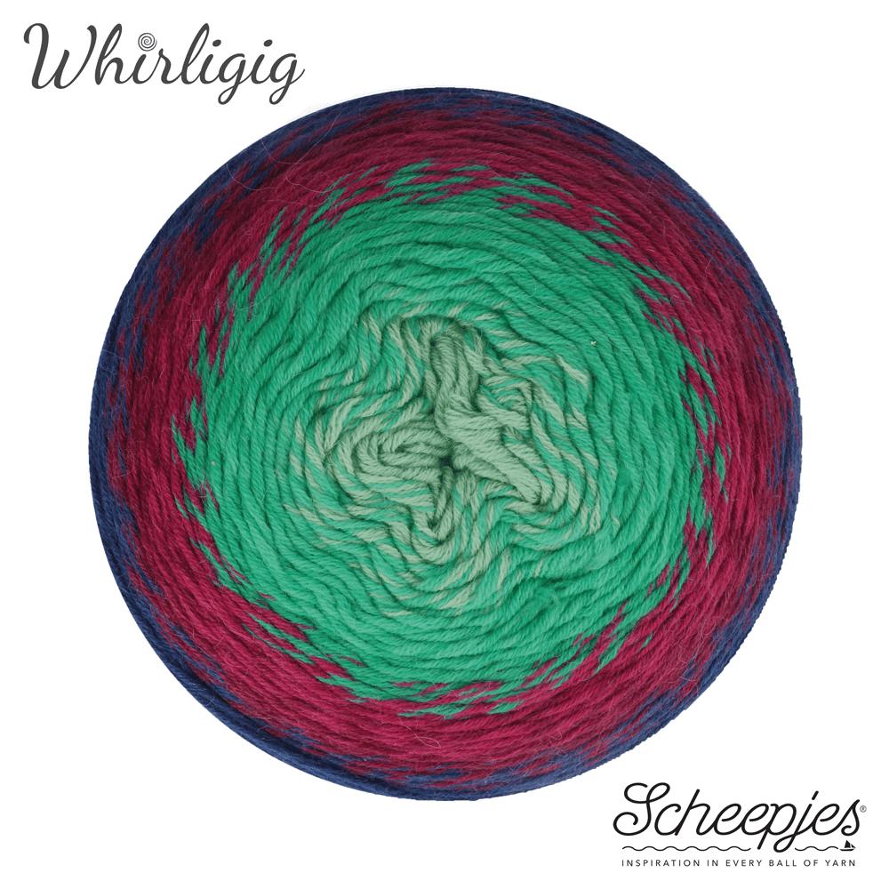 Scheepjes Whirligig - Sapphire to Jade 214