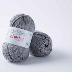Phildar Coton 3 - 130 Silver