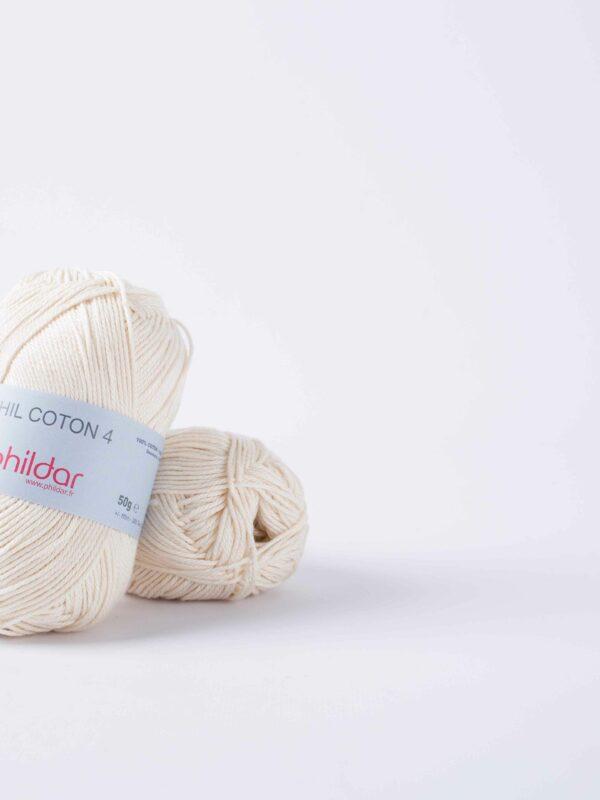 Phildar Coton 4 - ecru