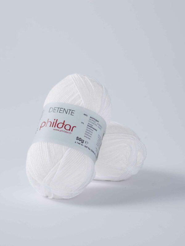 Phildar Detente - Blanc