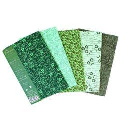 Tissu de Marie Fat Quarter Bundles Enchanted Emerald