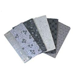 Tissu de Marie Fat Quarter Bundles Original Onyx
