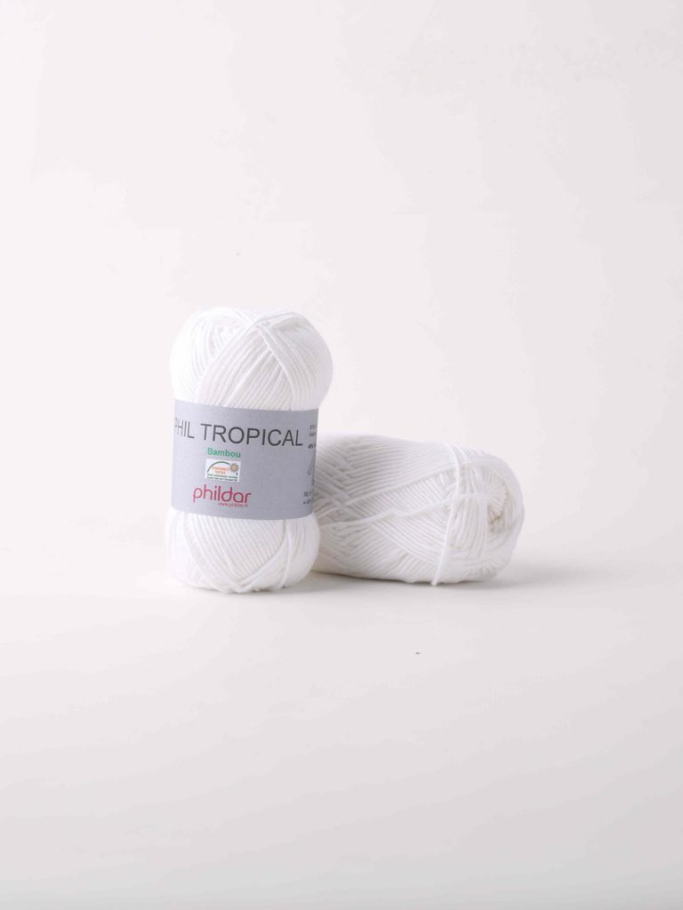 Phildar Tropical Blanc