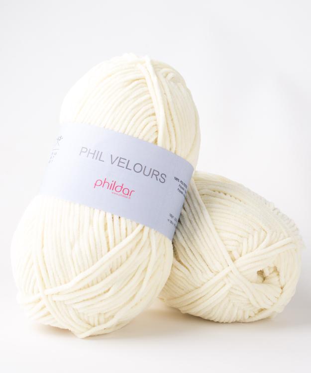 Phildar Velours Poussin
