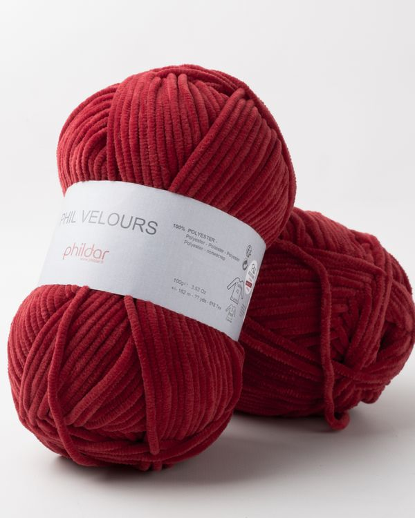 Phildar Velours Rubis