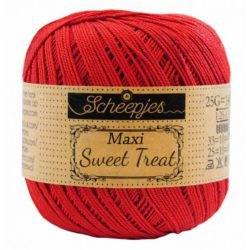 Scheepjeswol Maxi Sweet Treat Hot Red 115