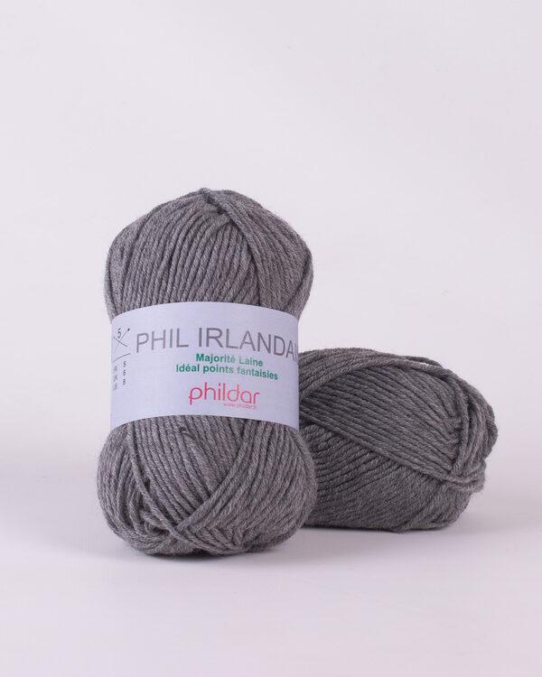 Phildar Irlandais Acier