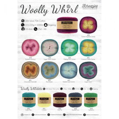 Woolly Whirl en Whirlette nu in de winkel