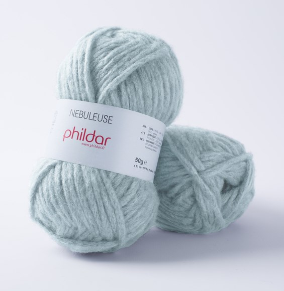 Phildar Nebuleuse Azur