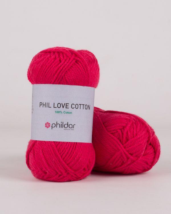 Phildar Love Cotton Fuchsia