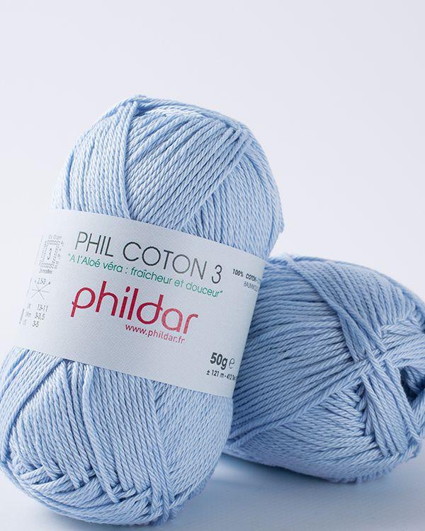 Phildar Coton 3 - Azur