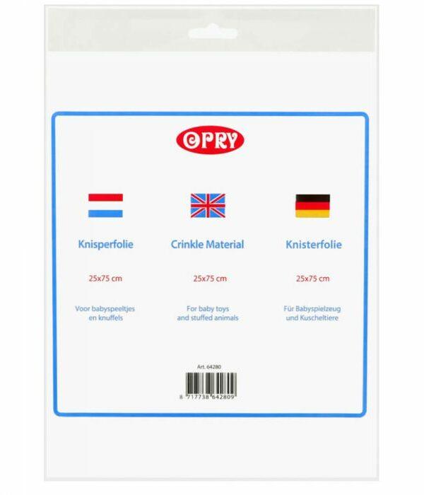 Opry Knisperfolie 25x75cm
