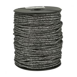Koord elastiek 3mm - silver 2