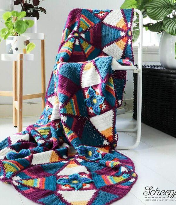 Scheepjes Royal Garden Blanket (Colour Crafter)