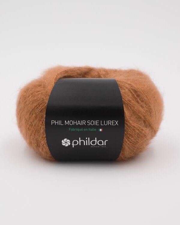 Phildar Mohair Lurex Noisette