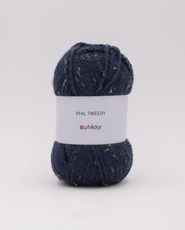 Phildar Tweedy Indigo