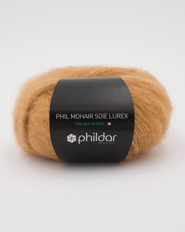 phildar Mohair Lurex Miel
