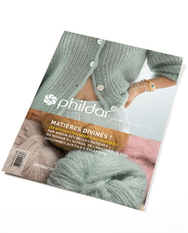 Phildar 194 - hemelse materialen - herfst-winter 20/21