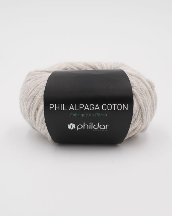 Phil Alpaga Cotton Givre