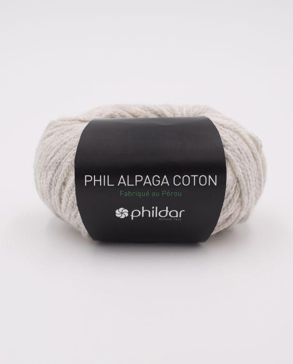 Phil Alpaga Cotton Givre