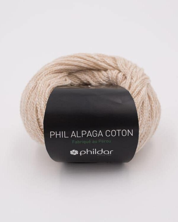Phil Alpaga Cotton Naturel