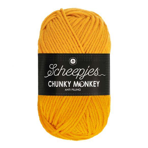 Scheepjes Chunky Monkey - 1114 Golden Yellow