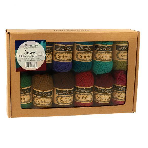Scheepjes Softfun - colour pack - Jewel