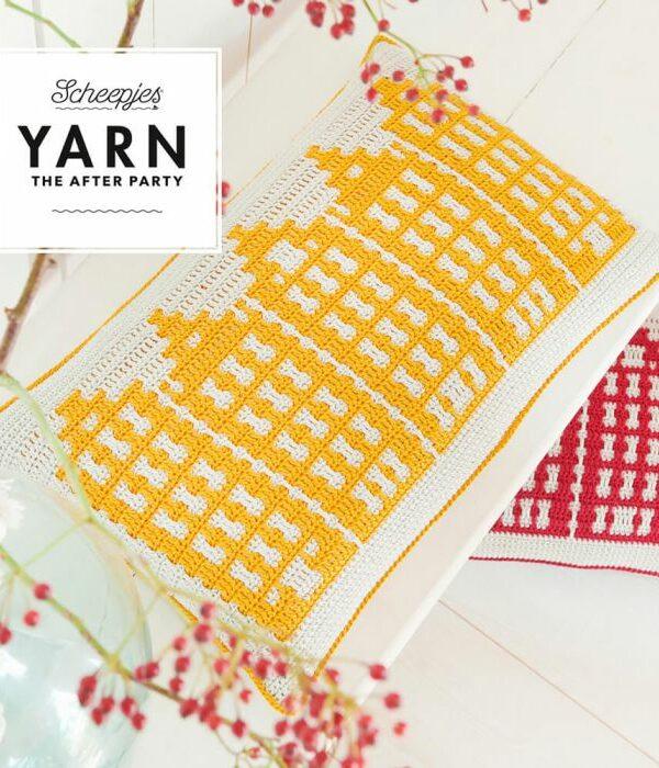 Haakpakket - Canal Houses Cushion geel