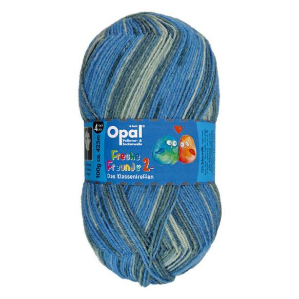 Opal Freche Freunde 2 4-draads kleur 9954
