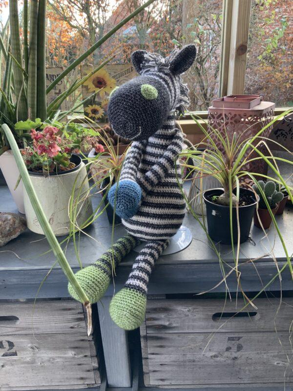Amigurumi - gehaakte knuffel - Zebra
