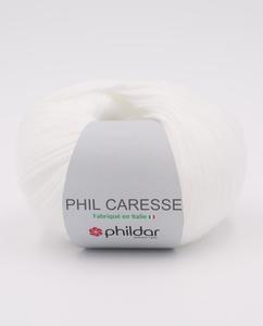 Phildar Caresse - Blanc