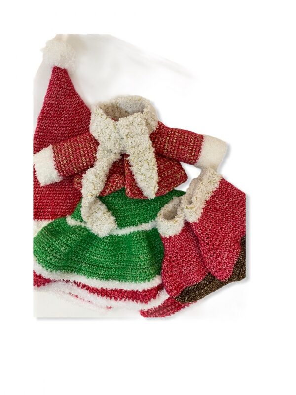 """Haakpakket - Kledingset """"Christmas Girl"""""""