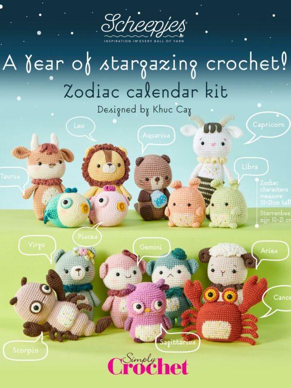 Exclusieve Scheepjes Zodiac Calender Kits