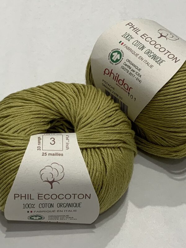 Phildar Ecocoton - Pistache