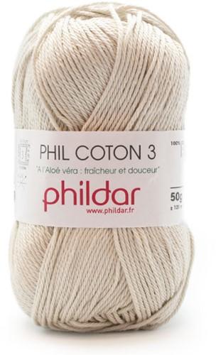 Phildar Coton 3 - Perle