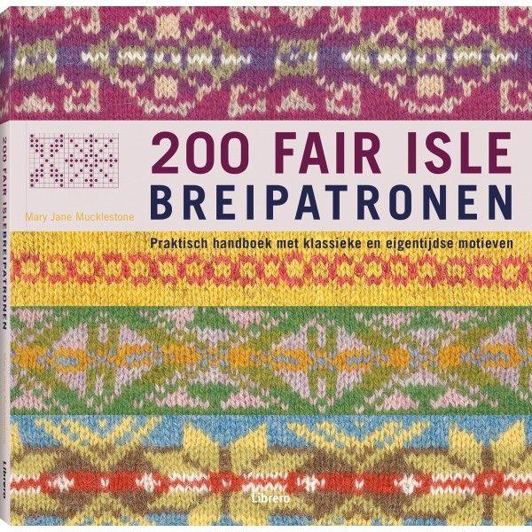 200 Fair isle breipatonen - Mary Jane Mucklestone