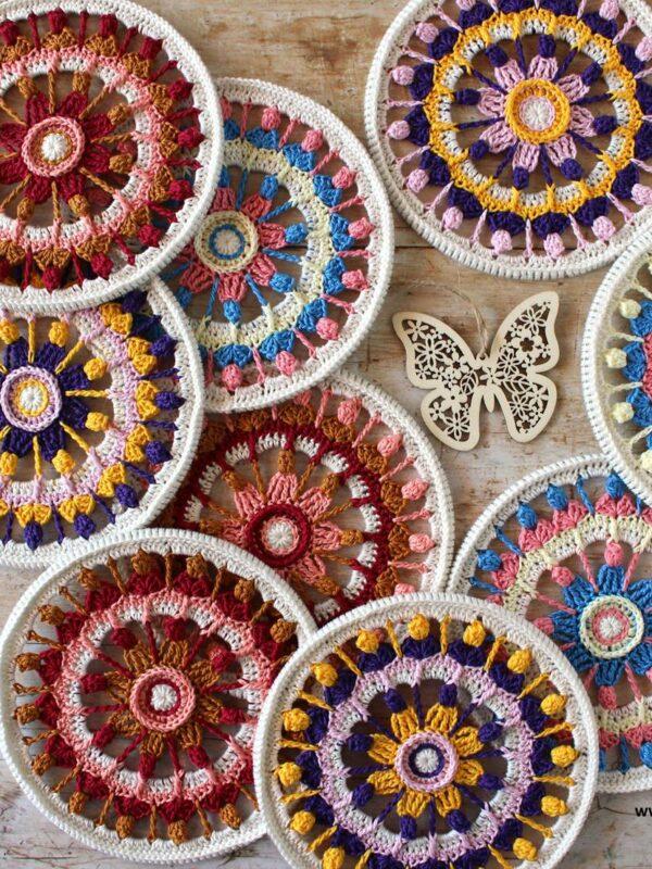Workshop by Esther Dijkstra - Summer Flower Mandala - zaterdag 20/11 van 13.00u tot 16.00u