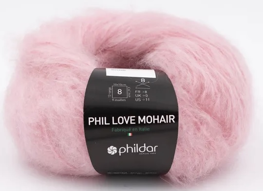 Phil Love Mohair Buvard