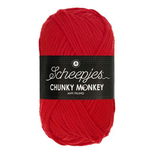 Scheepjes Chunky Monkey - 1010 Scarlet