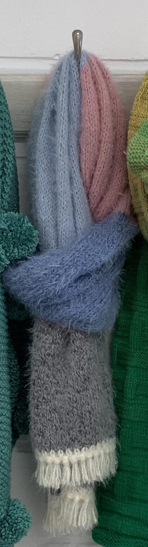 Breipakket sjaal Beaugency
